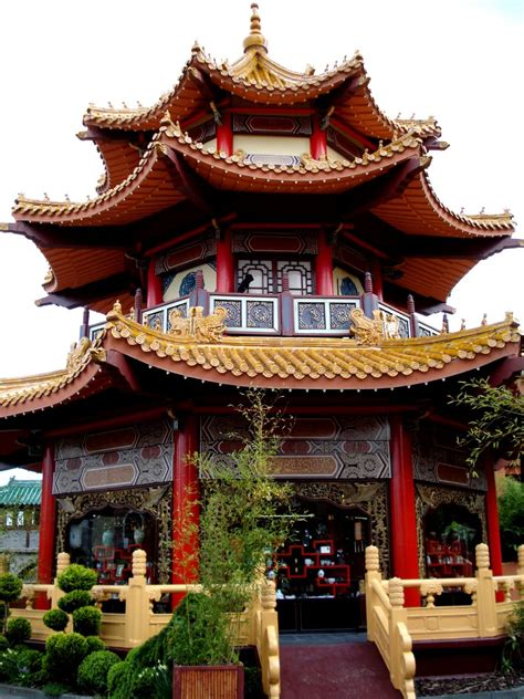 architect in chinese beautiful authentical chinese building