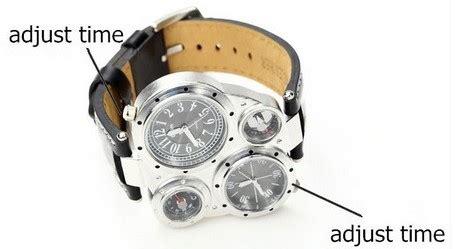 Jam Tangan Termometer jam tangan unik multifungsi dengan kompas dan termometer