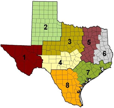 texas water districts map wildlife district leaders