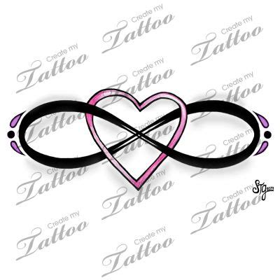 tattoo design marketplace marketplace tattoo eternal love infinity heart design