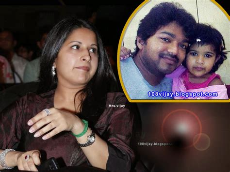 actor vijay daughter recent photos tamil actor vijay son and daughter photos www imgkid com