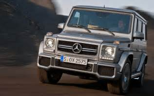 Mercedes G Wagon Suv 2013 Mercedes G63 Amg Front In Motion Up Photo 7