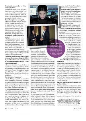 Vanity Fair Magazine March 2015 Kate Mara Vanity Fair Italy Magazine March 2015
