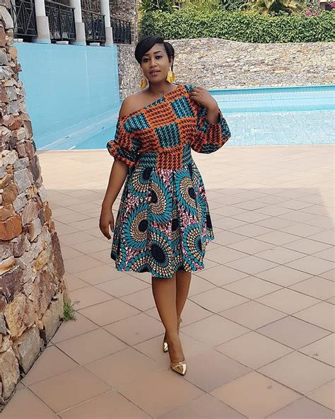 ankara short gown styles  trends  latest