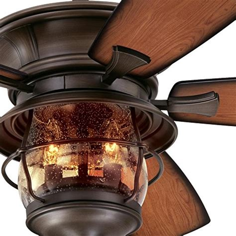 brentford 52 inch reversible five blade indoor outdoor ceiling fan
