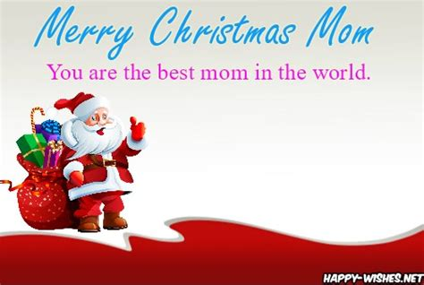 merry christmas wishes  mom quotes messages