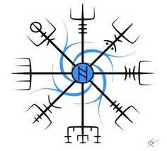 compass tattoo meaning on forehead vegvisir tattoo pinterest