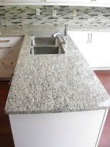 Pictures Of Backsplashes In Kitchens santa cecilia light granite