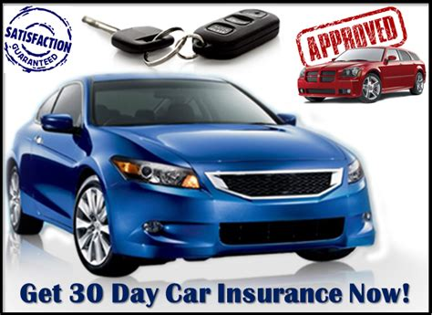 30 Day Car Insurance Quotes For Bad Drivers With No