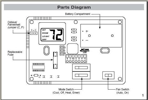 New Programmable Thermostat Wiring Doityourself Com