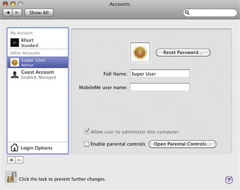 Os X Auto Logon by How To Secure Your Mac Part 1 Princeton Macintosh