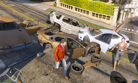 mod gta 5 extrime extreme deformation 999999x for all cars in v350 2 gta5