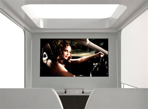Hi Can by Futuristic Bed With Built In Tv Movie Screen Video