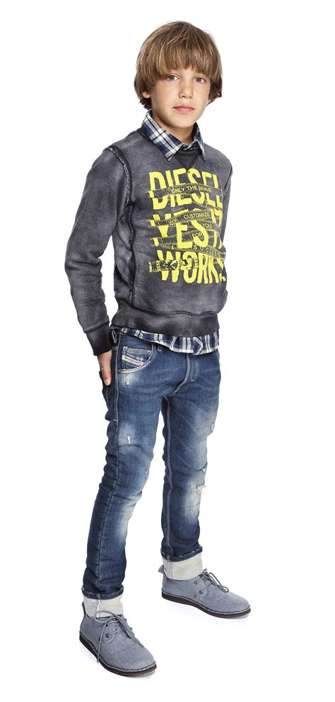 Pre Teen Boys Fashion | diesel diesel kid workwear teen boys fashion
