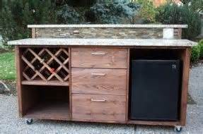 Plans For Wood Outdoor Furniture by Portable Patio Bar Foter
