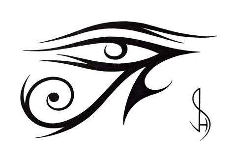 eye tribal tattoo gallery for gt the eye of ra