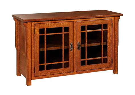 Lancaster Cabinets Amish Lancaster Mission Tv Stand No Drawers
