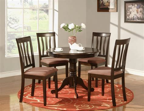 5 pc table dinette kitchen table and 4 chairs ebay