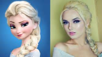 Galerry hairstyle elsa frozen