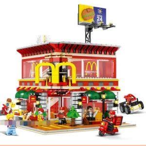 Sembo Block Mc D sembo block compativel lego mc donalds 1729 pecas r 599 96 em mercado livre