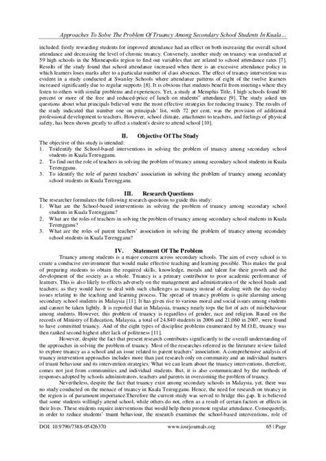 Truancy Essay by Truancy Research Paper Gcisdk12 Web Fc2