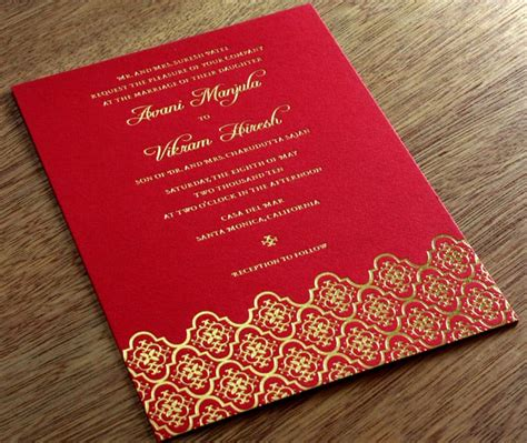 wedding card templates hindu wedding invitation cards designs template