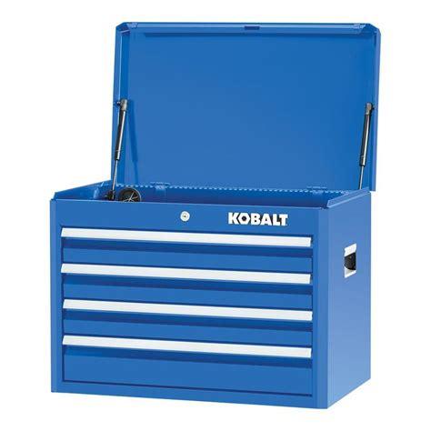 4 drawer kobalt tool bench shop kobalt 2000 series 19 75 in x 26 in 4 drawer