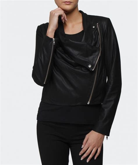 leather drape jacket helmut lang drape front leather jacket available at jules b