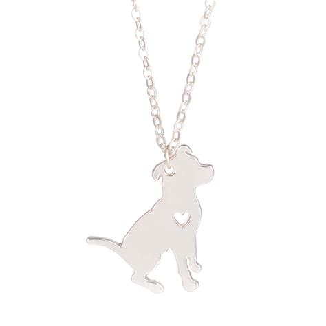 puppy necklace sale pit bull necklace pitbull jewelry custom necklace pendant jewelry