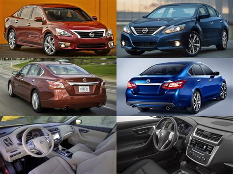 maxima vs altima 2016 2015 nissan altima vs 2016 nissan altima cleanmpg