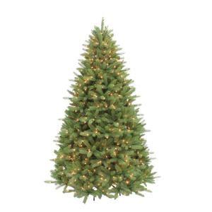 sure lit christmas tree lights puleo 7 5 ft pre lit douglas fir premier incandescent light artificial tree with 800