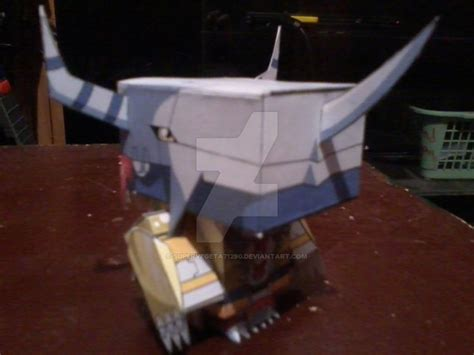 wargreymon cubeecraft by supervegeta71290 on deviantart