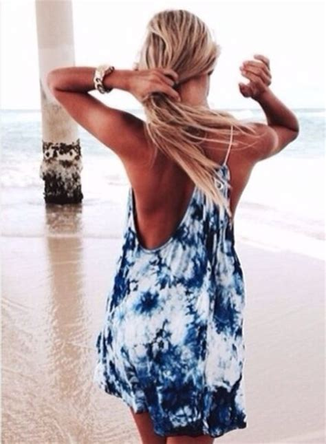 dress cover up tie dye wheretoget