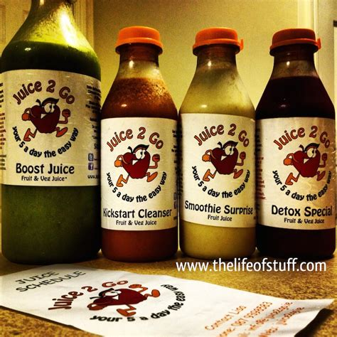 Detox Juice Cleanse On The Go by 5 Day Juice Detox Challenge From Juice 2 Go
