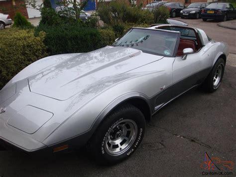 25th anniversary corvette corvette c3 1978 25th anniversary edition 5 7 v8