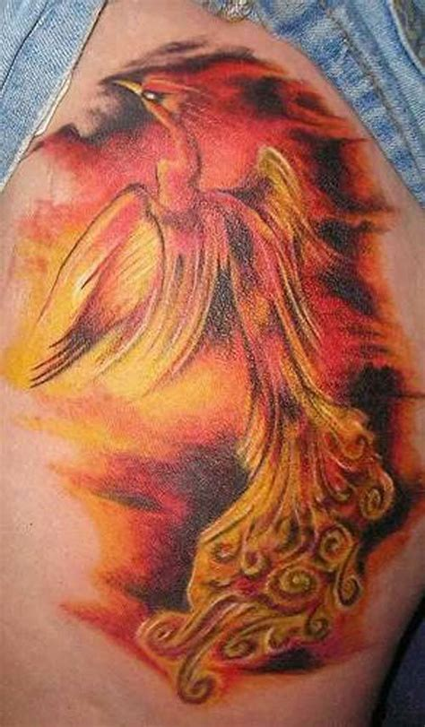 tattoo phoenix flames 58 incredible flame tattoos