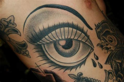 old eye tattoo by gold rush tattoo