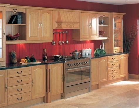 barn red kitchen cabinets countertops black countertops and red kitchen walls on