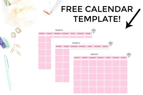 The Printable Blog Planner That Will Help You Grow Your Blog Biz Gemma Bonham Carter Editorial Calendar Template Sheets