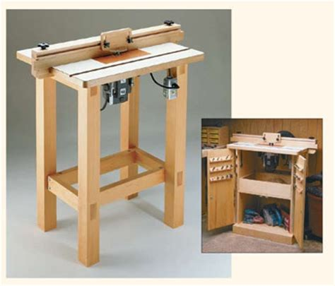woodwork router table plans woodsmith pdf plans