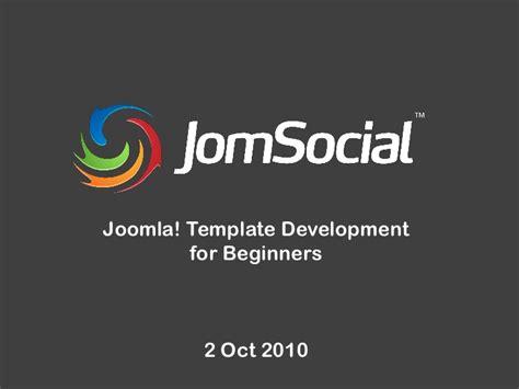 joomla tutorial for beginners ppt joomla template for beginners