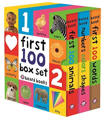 Set Isi 3 Board Book Animal cheapest copy of 100 board book box set 3 books by roger priddy 0312521065