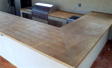 Wood Grain Countertop Laminate by Concrete Countertops Sted Artistry Houston Wood