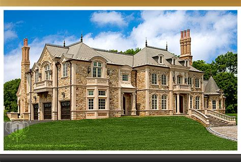 custom mansions showcase the chateau custom luxury mansion
