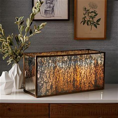 Mercury Glass L West Elm by Mercury Glass Candle Centerpiece West Elm