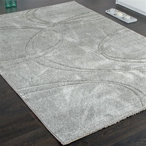 badezimmerteppich modern teppich grau kurzflor harzite