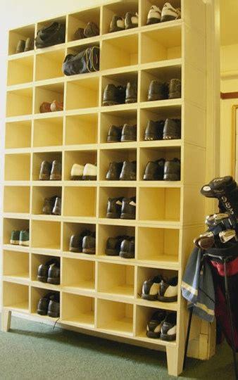 garage shoe storage garage