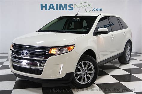 used 2013 ford edge sel 2013 used ford edge 4dr sel fwd at haims motors serving