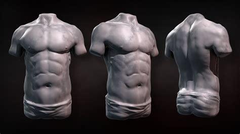 zbrush tutorial human body zbrush tutorial sculpting human torsos in zbrush youtube