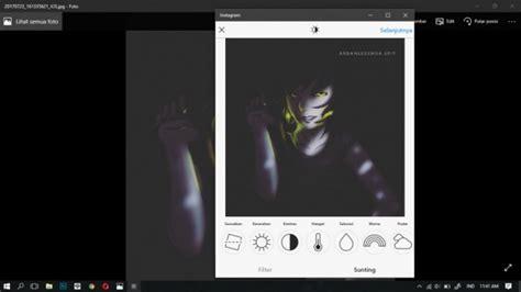 cara edit foto instagram cara mudah upload foto di instagram lewat pc laptop